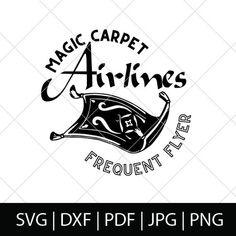 Disney Hall, Disney Sign, Disney Decals, Disney Clipart, Cricut Vinyl, Vinyl Decals, Aladdin Magic Carpet, Disney Diy Crafts, Cricket Crafts