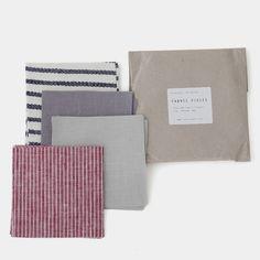 Fog Linen Assorted Color Remnant Set: 100g