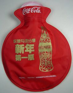 COCA-COLA Coke Hot water warmer bottle Bag from China