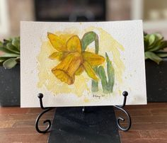 "@scrappermamo shared a photo on Instagram: ""Praying for a beautiful and healthy season! #HappyFirstDayofSpring #HappySpring #Spring #watercolordaffodil #daffodil #watercolorpractice…"" • Mar 20, 2021 at 4:56pm UTC First Day Of Spring, Happy Spring, The 4, Daffodils, Pray, Watercolor, Seasons, Healthy, Beautiful"