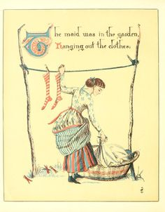 Walter Crane ~ Song of sixpence