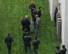 Behind the Scene Images of Divergent in Chicago\