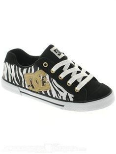 DC Black Zebra Chelsea SE R Womens Shoe
