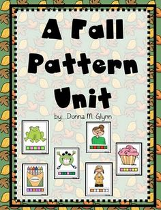 Patterns, Patterns, and More Patterns!  Great unit.