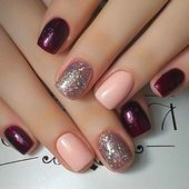 15 Trending Nail Designs That You Will Love! - Best Nail Art, 15 Trending Nail Designs That You Will Love! - Best Nail Art, Professionally performed and how to shape nails coffin pattern on nails can be done not only with the help of brushes Fancy Nails, Trendy Nails, Cute Nails, Simple Nail Art Designs, Best Nail Art Designs, Short Nail Designs, Colorful Nail Designs, Nails Polish, Nail Swag