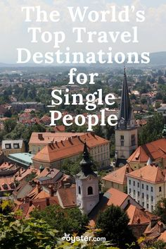 For travelers looking to make a connection (love or otherwise), it helps to go where the odds are good. Here's the top destinations for travelers with the biggest population of singles.