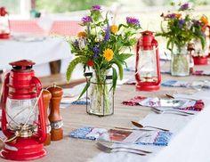 BBQ Party Ideas - adore the lanterns!!