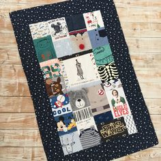 Keepsake Quilt Medium Size - Patchwork Quilt made with your baby or loved ones clothes Keepsake Quilting, Organic Baby, Cot, Quilt Making, My Etsy Shop, Gift Ideas, Quilts, Blanket, Cool Stuff