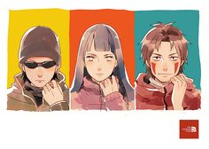 Tags: Fanart, NARUTO, Hyuuga Hinata, Pixiv, Inuzuka Kiba, Aburame Shino, Fanart From Pixiv, Team 8, Pixiv Id 9364464