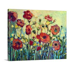 Anitas Poppies Canvas Print | Joss & Main