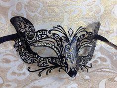 Luxury Cat Woman Stylel Metal Laser Cut Venetian Halloween Ball Masquerade Mask  #MasqueradeMask