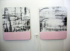 miles hall artist - Google Search White Art, Black And White, Painting Canvas, Abstract Art, Paintings, Google Search, Artist, Canvas, Blanco Y Negro