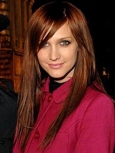 red hair..one day I will step out of the brunette box and try it