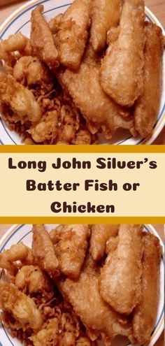 Long John Silver's Batter Fish or Chicken - Boumviral Restaurant Recipes, Seafood Recipes, Soup Recipes, Cooking Recipes, Healthy Recipes, Copycat Recipes, Chicken Recipes, Sausage Recipes, Healthy Chicken