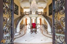 Stunning sale: Tyler Perry has put his giant Atalanta, Georgia, mansion on the market for ...