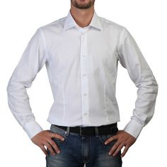 ROSSO FIORENTINO Man. Size 44. Overhemd, Shirt, Hemd, Chemise, Camisa, Camicia