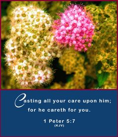 1 Peter 5:7 (KJV) tells us that the Lord cares about us.