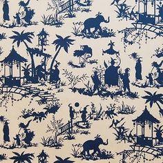 elephant toile