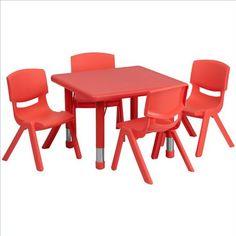 Flash Furniture 24'' Square Adjustabl... (bestseller)