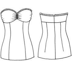 Lace Strapless Dress  Sewing patterns Diy dress and Strapless dress
