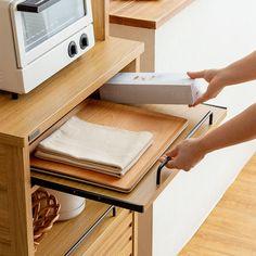 レンジラック LAFIKA(ラフィカ) A/家電まとめ置きタイプ 【公式】北欧インテリア・家具の通販エア・リゾーム