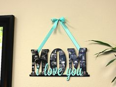 7 Ideas for Mom this Mother's Day   Mother's Day Collage Sign   CraftCuts.com