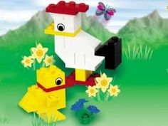 Easter Chickens - although it is a holiday set I think we have LEGOs to build it