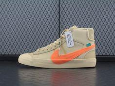 new styles 4391a 44391 Off-White x Nike Blazer Mid AA3832-700 White Nikes, Shoe Sale,