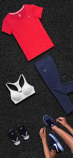 The Hard Days Are Alright Fit Kit is a collection of every running essential — moveable, sweat-wicking layers, an NRC running plan to get on track and a high energy playlist.