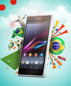 Sony Xperia World Cup 2014 on Behance