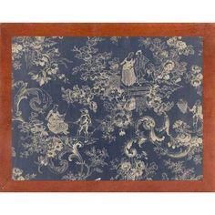 Ophelia & Co. 'Toile Fabrics II' Graphic Art Print Format: Canadian Walnut Medium Framed