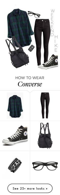 """Weekend Hike"" by sweetyincago on Polyvore featuring Madewell, Converse, Waterford, Opening Ceremony, women's clothing, women, female, woman, misses and juniors"