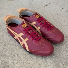 Onitsuka Tiger Mexico 66: Red Leather