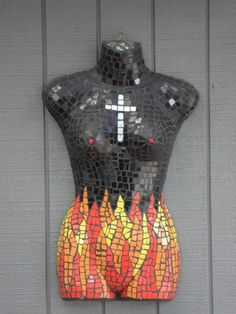 The Fire Goddess © Copyright Planetj9 Mosaic