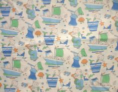 Recent finds - Mabel Lucie Attwell fabric