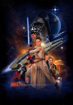 welcome2creepshow:   'Star Wars: The Force... - The Force Awakens