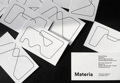 Materia by Paprika. #branding #stationery