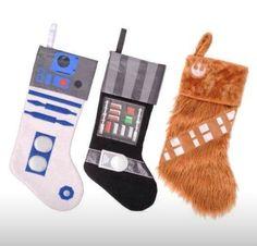 DIY Star Wars Stockings!!!