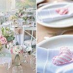 Inspirações para fazer seu próprio porta guardanapo de casamento