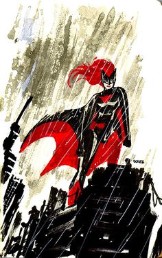 tights-and-capes:  Batwoman by Joel Gomez
