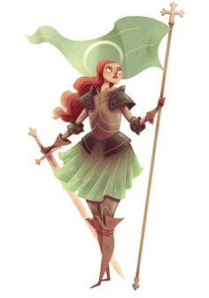 HISTORICAL FIGURE #9  Joan of Arc.