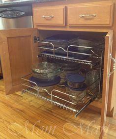 Mom Mart: DIY Kitchen Organization
