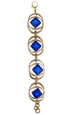 Lulu Frost Daphne blue bracelet modaoperandi.com