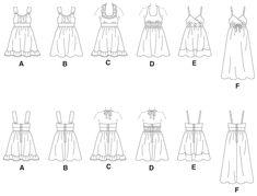 M5838 | Children's/Girls' Dresses | Girls/Boys | McCall's Patterns