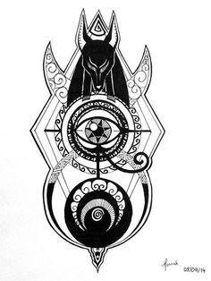 Anubis by HannahNimous on deviantART