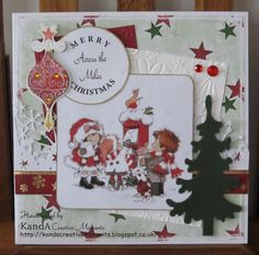 225 KandA Creative Moments blog: Christmas Across the Miles
