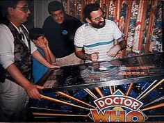 Dr Who playing Dr WHo !