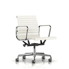herman miller eames aluminum group executive chair h 41 375 44 75