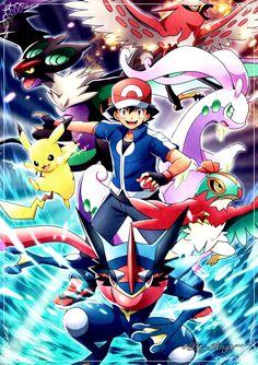 Ash XY&Z. Full Team