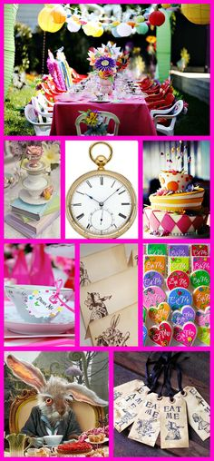 Alice in Wonderland Party | Alice In Wonderland Wedding Theme…Mad as a hatter? – - UK wedding ...